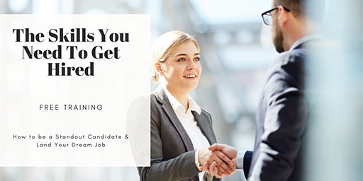 TRAINING: How to Land Your Dream Job (Career Workshop) Brownsville,TX