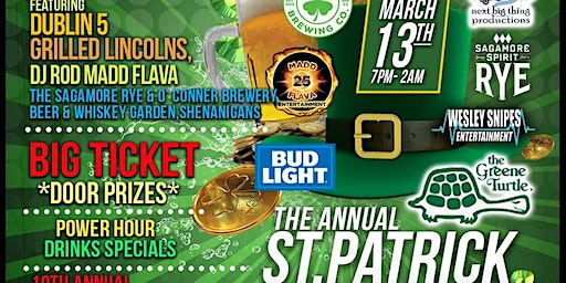 "St. Patrick's Green Games ""RYE DAY the 13th"""