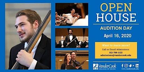 April 16th VanderCook Open House tickets