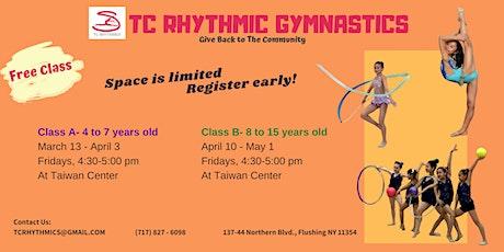 Spring Session-FREE Rhythmic Gymnastics Class (8-15 years old)  tickets