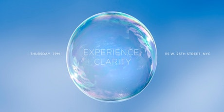 EXPERIENCE CLARITY NYC - Rebirthing Breathwork Ceremony tickets