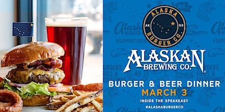 Alaskan Brewing & Alaska Burger Company Beer Dinner at the Speakeasy tickets