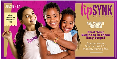 Ages 8-17 Young Ladies - Start Your Business in 3-2-1 Easy Steps tickets