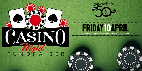 #WeLoveJazzEd Casino Night Fundraiser! tickets