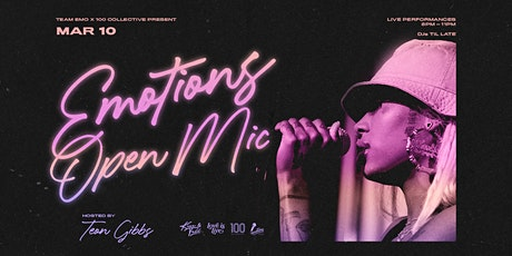 Emotions Open Mic- March 2020 Edition tickets