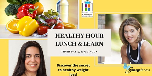 FREE HEALTHY HOUR LUNCH AND LEARN