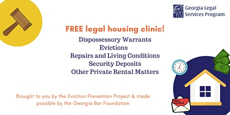 Ask-a-Housing Lawyer-Day- Rockdale County tickets