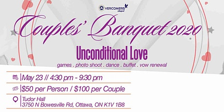 Couples' Banquet tickets
