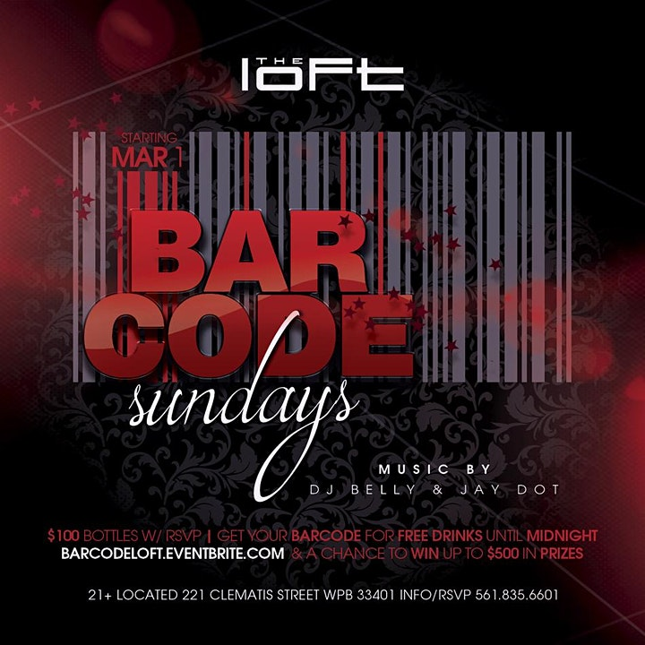 Bar Code SUNDAYS   The Loft image
