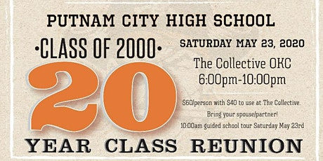 PC 20 Year Reunion tickets