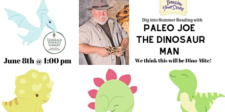 Dig into Summer Reading with Paleo Joe! tickets