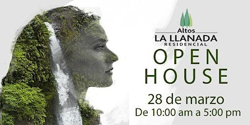 OPEN HOUSE RESIDENCIAL ALTOS LA LLANADA