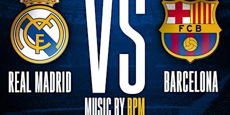 Barcelona vs Real Madrid @barCode NJ tickets
