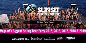 Sunset Booze Cruise - Boat Party Magaluf 2020
