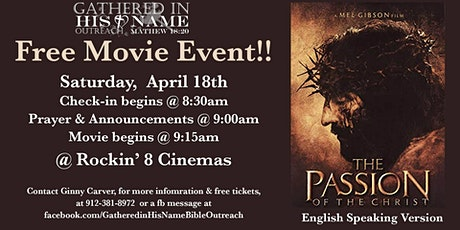 The Passion of the Christ - Free Movie Event tickets