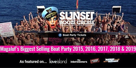 Sunset Booze Cruise Magaluf 2020 tickets