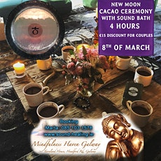 New Moon CaCao Ceremony with Sound Bath tickets