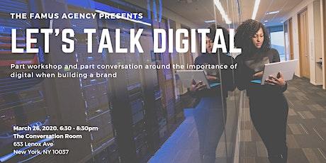 Let's Talk Digital tickets