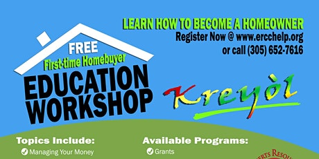 First-Time Homebuyer Education Workshop - CREOLE tickets