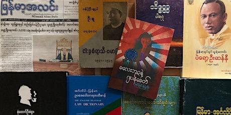 Myanmar studies without Burmese? tickets