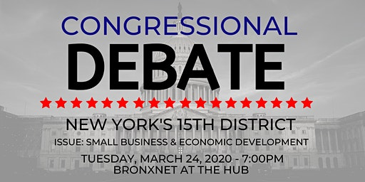 NYS 15th Congressional District Debate