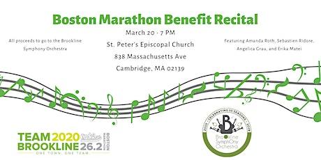 Boston Marathon Benefit Recital tickets