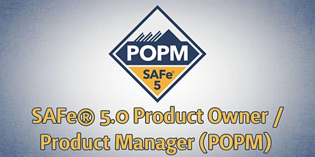 SAFe® Product Owner/Product Manager 5.0 (POPM) mit Zertifizierung tickets