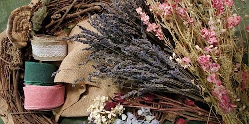 Dried Spring Wreath Class