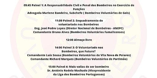 """1º Seminário Distrital """"O Voluntariado nos Bombeiros em Portugal"""""""