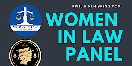 Women in Law Panel tickets