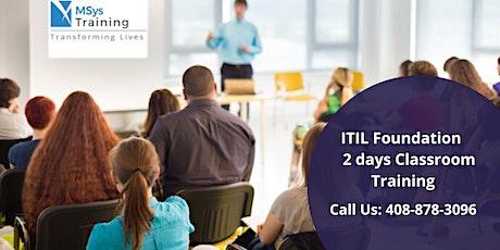 ITIL Foundation Certification Training in  Regina tickets