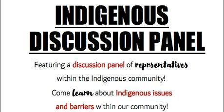Indigenous Discussion Panel tickets