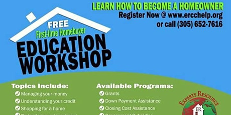 First-Time Homebuyer Education Workshop (Experts Resource Community Center) tickets