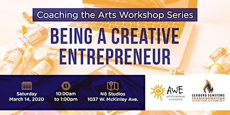 Coaching the Arts: Being a Creative Entrepreneur tickets