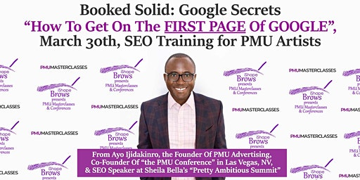 How To Get On The First Page Of Google, SEO Training for PMU Artists
