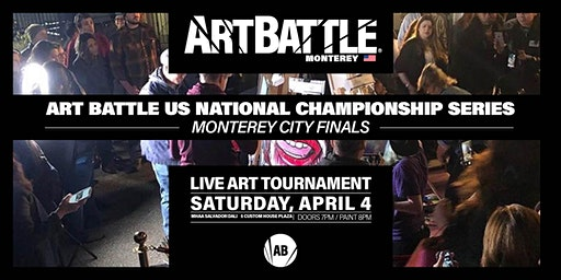 Art Battle Monterey City Finals - April 4, 2020