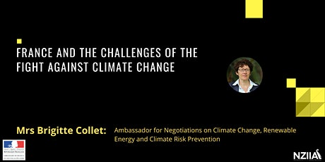 France and the Challenges of the Fight Against Climate Change tickets