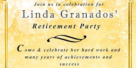 Linda Granado's Retirement tickets
