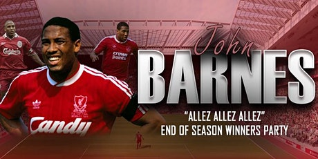 John Barnes End Of Season Party tickets