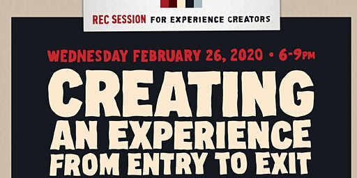 Creating an Experience From Entry to Exit