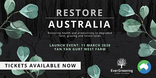 Restore Australia - Campaign Launch (Free Event)