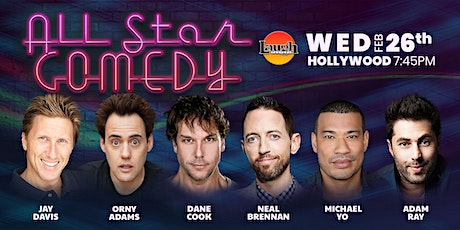 Dane Cook, Orny Adams, and more - All-Star Comedy tickets
