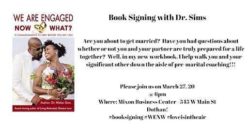 Dr. Walter Sims Book Signing - Dothan