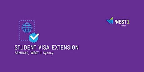 Student Visa Extension tickets