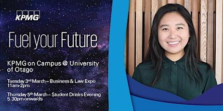 KPMG 2020 Student Meet Up Evening @ University of Otago tickets