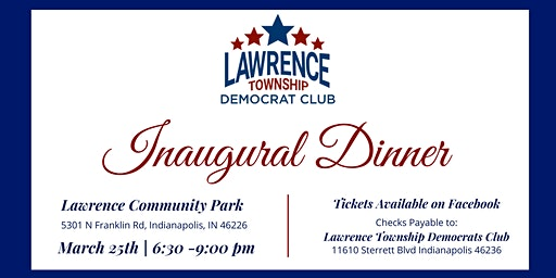 Lawrence Township Democrats Club Dinner