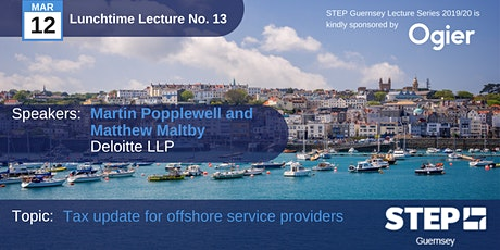 STEP Lunchtime Lecture No.13 tickets