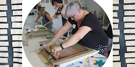 Screen Printing 1 day beginners workshop tickets