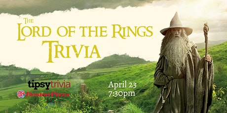 Lord of the Rings Trivia - April 23, 7:30pm - Boston Pizza North Red Deer tickets