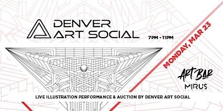 Denver Art Social tickets